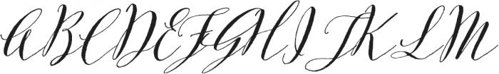Great Mischief - Kestrel Montes otf (400) Font UPPERCASE