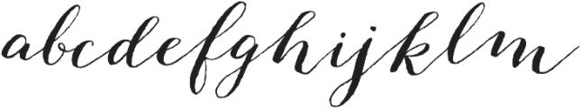 Great Mischief - Kestrel Montes otf (400) Font LOWERCASE