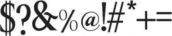 Great Serif Regular ttf (400) Font OTHER CHARS