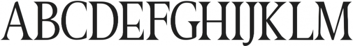 Great Serif Regular ttf (400) Font UPPERCASE