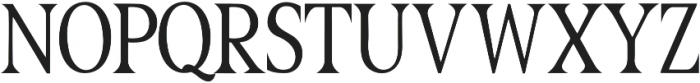 Great Serif Regular ttf (400) Font LOWERCASE