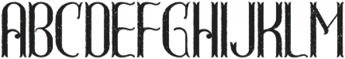 GreatShot Aged otf (400) Font UPPERCASE