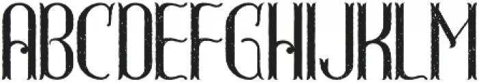 GreatShot Aged otf (400) Font LOWERCASE