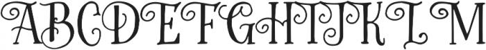 Greatest otf (400) Font UPPERCASE