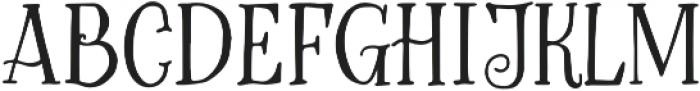 Greatest otf (400) Font LOWERCASE