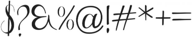 Greatfull otf (400) Font OTHER CHARS
