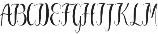 Greatfull otf (400) Font UPPERCASE