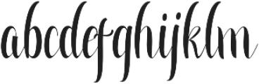 Greatfull ttf (400) Font LOWERCASE