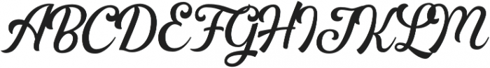 Greatly Clean otf (400) Font UPPERCASE