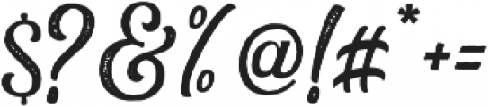 Greatly Stamp otf (400) Font OTHER CHARS