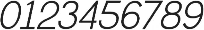 Greback Grotesque Medium Italic otf (500) Font OTHER CHARS