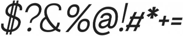 Greback Grotesque Medium Italic ttf (500) Font OTHER CHARS
