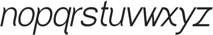 Greback Grotesque Medium Italic ttf (500) Font LOWERCASE