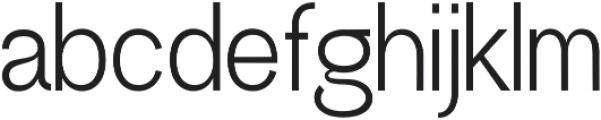 Greback Grotesque Medium otf (500) Font LOWERCASE