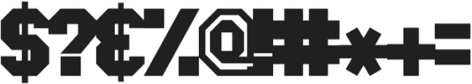 Greek House Collegiate ttf (400) Font OTHER CHARS