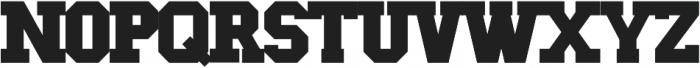 Greek House Collegiate ttf (400) Font LOWERCASE