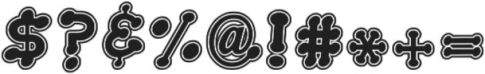 GreekHouse Applique OL ttf (400) Font OTHER CHARS