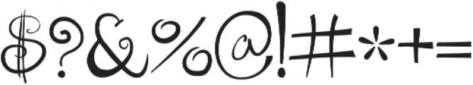 GreekHouse Kurlz Bold ttf (700) Font OTHER CHARS