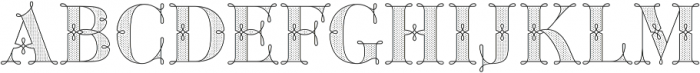 Green Fairy Dots Combo otf (400) Font UPPERCASE