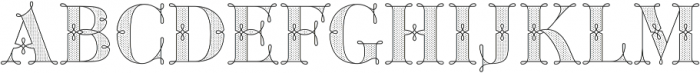 Green Fairy Dots Combo otf (400) Font LOWERCASE