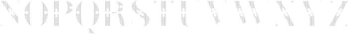 Green Fairy Dots otf (400) Font LOWERCASE