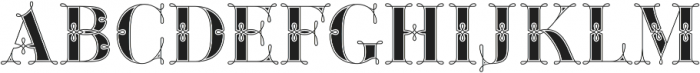 Green Fairy Stencil Combo otf (400) Font UPPERCASE