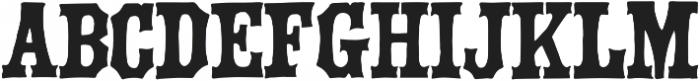 Green Howard ttf (400) Font LOWERCASE