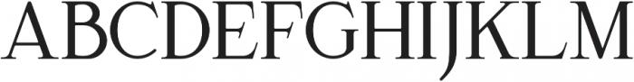 Green Suligar Serif otf (400) Font UPPERCASE