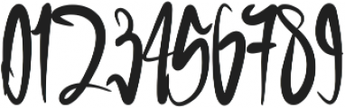 Green blood otf (400) Font OTHER CHARS