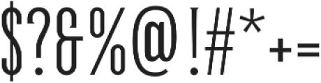 GreenGrove Light otf (300) Font OTHER CHARS