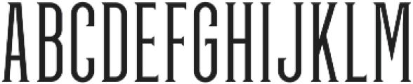 GreenGrove Light otf (300) Font UPPERCASE
