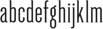 GreenGrove Light otf (300) Font LOWERCASE
