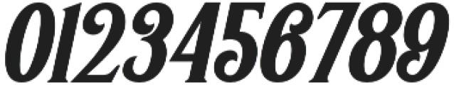 Greenore Italic otf (400) Font OTHER CHARS