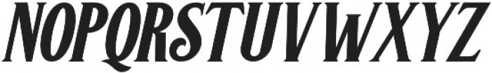 Greenore Italic otf (400) Font UPPERCASE
