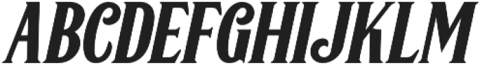 Greenore Italic otf (400) Font LOWERCASE