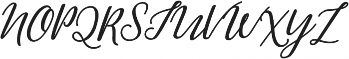 Greenstone Script Bold Italic otf (700) Font UPPERCASE