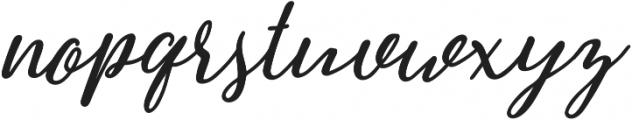 Greenstone Script Bold Italic otf (700) Font LOWERCASE