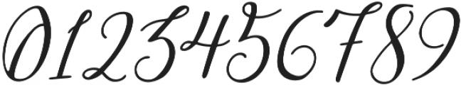 Greenstone Script Italic otf (400) Font OTHER CHARS