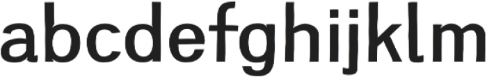 Greenstyle Medium otf (500) Font LOWERCASE