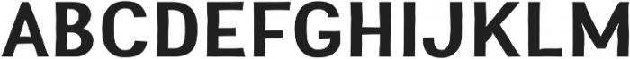 Greenstyle otf (700) Font UPPERCASE