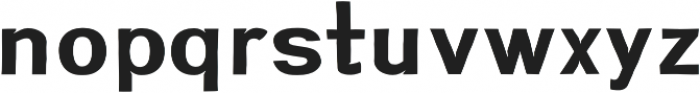 Greenstyle otf (700) Font LOWERCASE