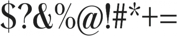Grenale otf (500) Font OTHER CHARS
