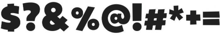 Gribley Big otf (400) Font OTHER CHARS