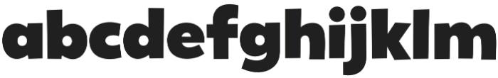 Gribley Big otf (400) Font LOWERCASE