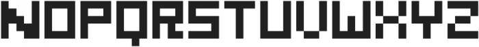GridType Regular otf (400) Font UPPERCASE