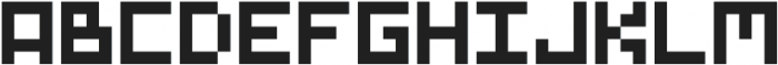GridType Regular otf (400) Font LOWERCASE