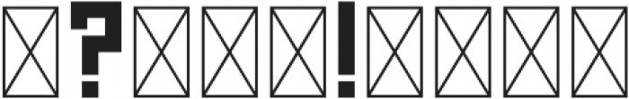 GridType Serif Bold otf (700) Font OTHER CHARS