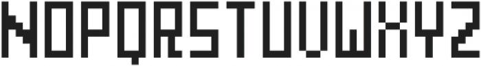 GridType Tall Regular otf (400) Font UPPERCASE
