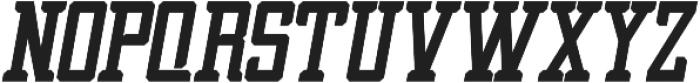 Griffin Bold Italic ttf (700) Font UPPERCASE