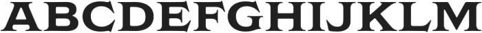 Griffon Bold otf (700) Font LOWERCASE